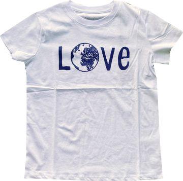 MAVI Damen TShirt weiß Organic Cotton LOVE PRINTED TEE 168602-620