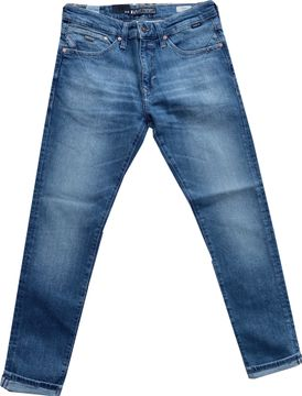 Mavi skinny Herren Stretchjeans ash blue ultra move James 00424