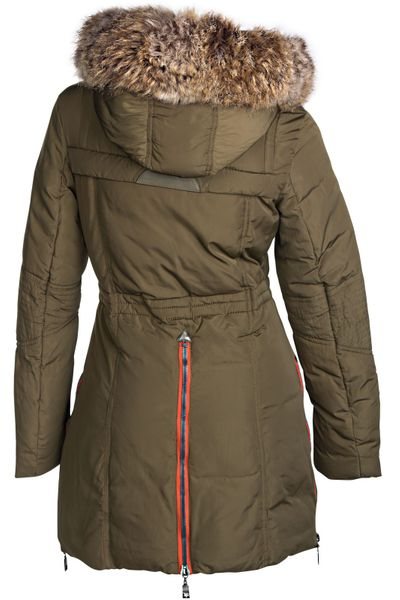 Damen Winterjacke Mantel Fell 2in1 Kapuze – Bild 15