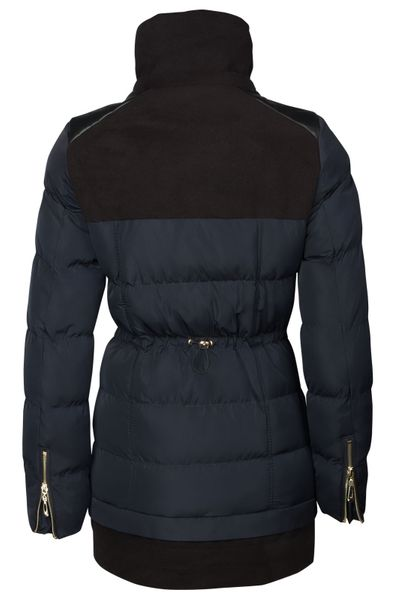 Damen Winterjacke Mantel Fell 2in1 Kapuze – Bild 24
