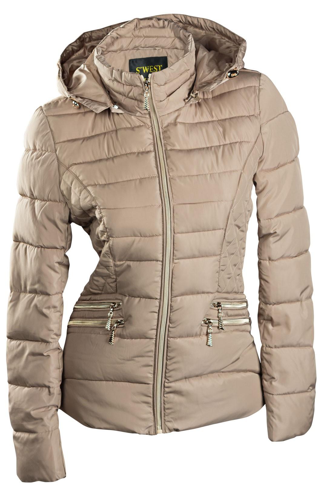 competitive price e9cb7 b6018 Damen Winterjacke Steppjacke Skijacke Übergangsjacke