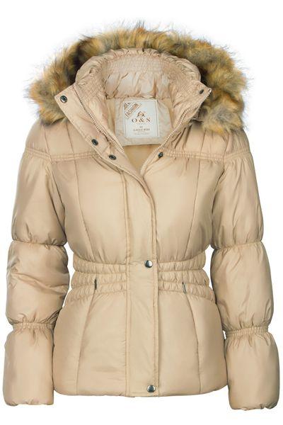 Damen Winterjacke Mit abnehmbarer Kapuze Steppjacke Übergangsjacke – Bild 12