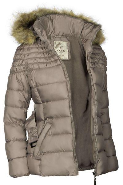 Damen Winterjacke Mit abnehmbarer Kapuze Steppjacke Übergangsjacke – Bild 24
