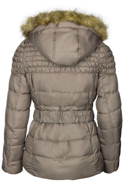 Damen Winterjacke Mit abnehmbarer Kapuze Steppjacke Übergangsjacke – Bild 25
