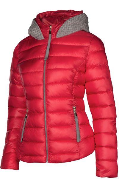 Damen Winterjacke Steppjacke Daunenoptik Skijacke Mit Kapuze Übergangsjacke – Bild 13