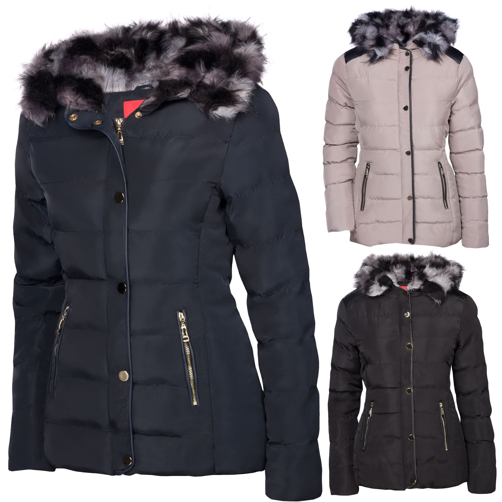 Winterjacken in xxl fur damen