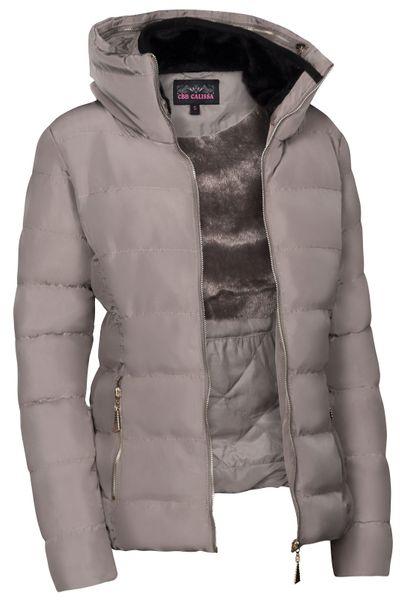 Damen Winterjacke Steppjacke Daunenoptik Skijacke Mit Kapuze in den Größen S M L XL XXL – Bild 14