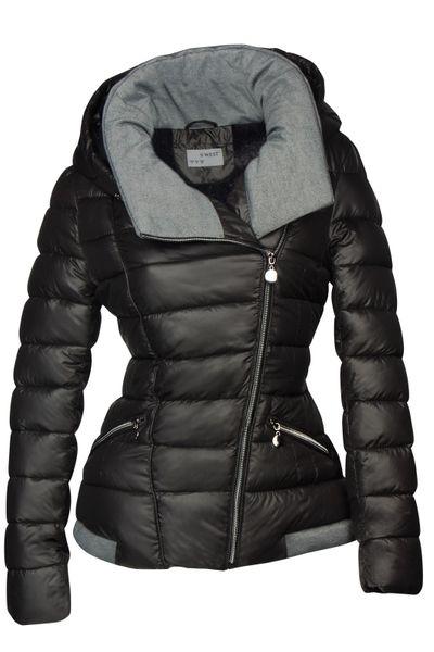 Damen Steppjacke mit Kapuze inkl. Taillengurt – Daunen-Look – gefütterte Winter-Ski-Jacke – Bild 9
