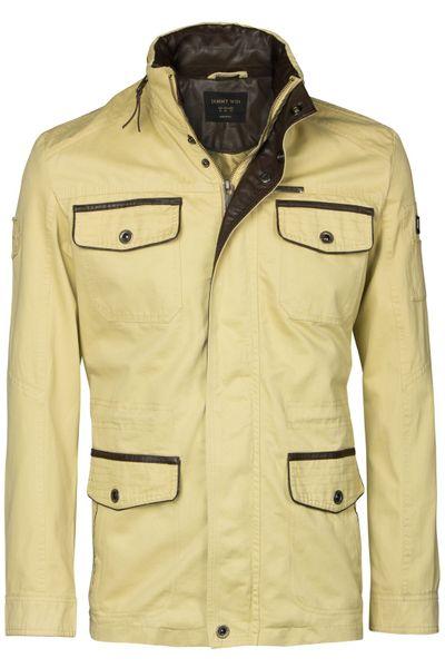Herren Parka Feldjacke im Army-Militär-Look mit einsteckbarer Kapuze Cotton Baumwolle – Bild 12