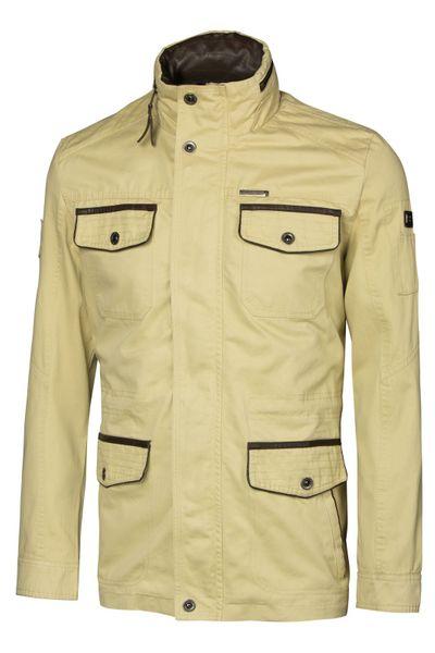 Herren Parka Feldjacke im Army-Militär-Look mit einsteckbarer Kapuze Cotton Baumwolle – Bild 13