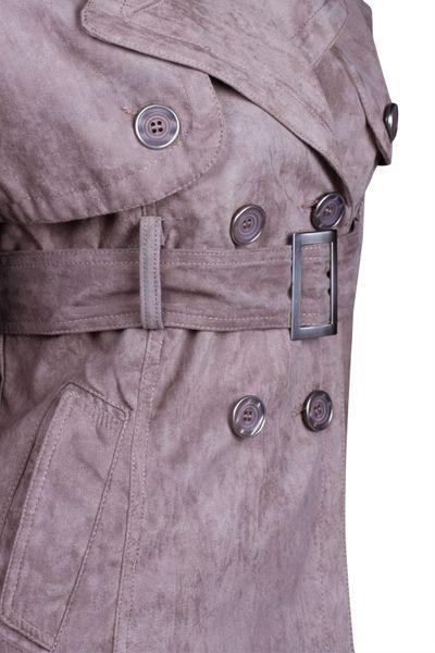 Catwalk Damen Jacke Übergangsjacke Wildlederimitat SALE – Bild 22