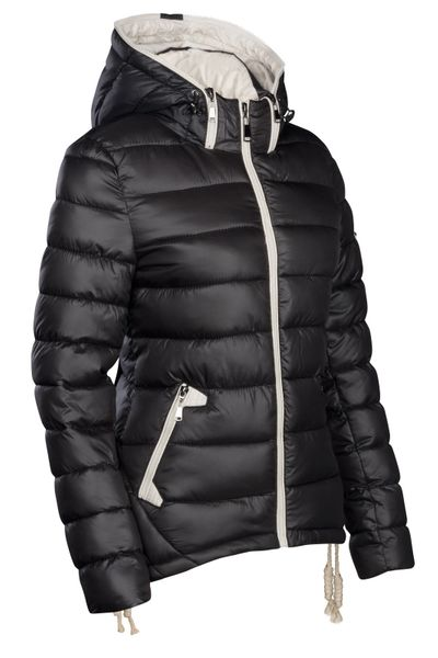 Damen Winter Stepp Jacke Ski Jacke Dauen Optik – Bild 14