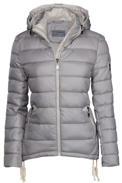 Damen Winter Stepp Jacke Ski Jacke Dauen Optik – Bild 17