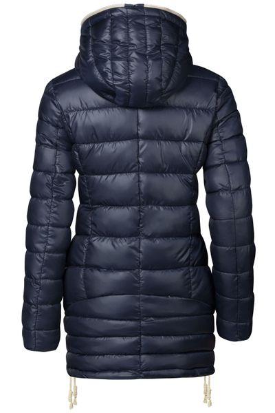Damen Stepp Winter Mantel Übergangsmantel Lang Jacke Parka – Bild 6