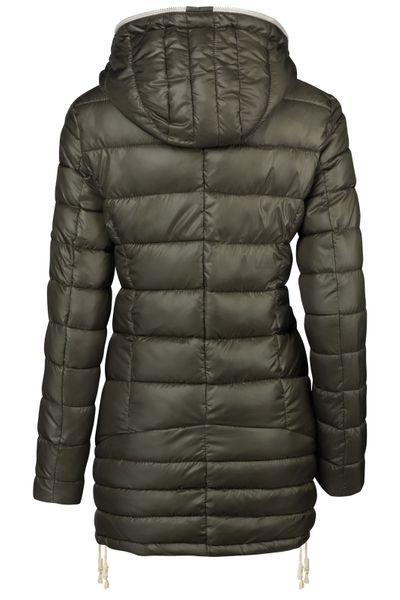 Damen Stepp Winter Mantel Übergangsmantel Lang Jacke Parka – Bild 11