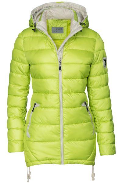 Damen Stepp Winter Mantel Übergangsmantel Lang Jacke Parka – Bild 17