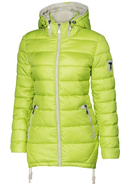 Damen Stepp Winter Mantel Übergangsmantel Lang Jacke Parka – Bild 18