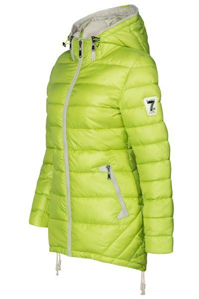 Damen Stepp Winter Mantel Übergangsmantel Lang Jacke Parka – Bild 19