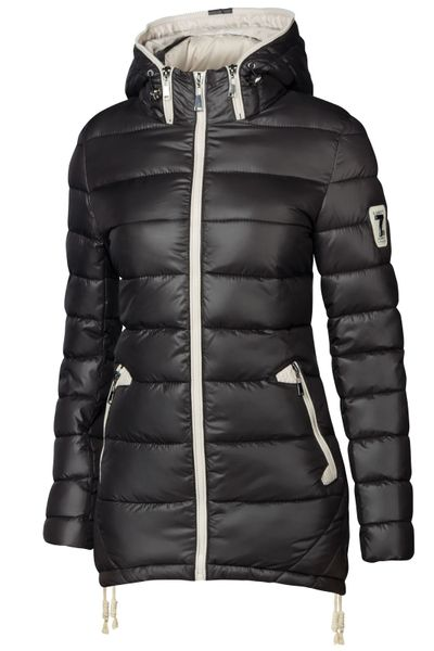 Damen Stepp Winter Mantel Übergangsmantel Lang Jacke Parka – Bild 13