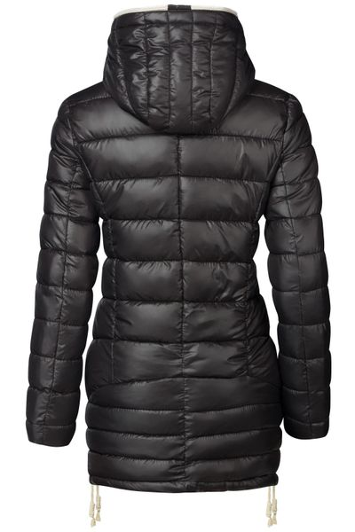 Damen Stepp Winter Mantel Übergangsmantel Lang Jacke Parka – Bild 16