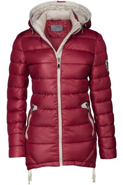 Damen Stepp Winter Mantel Übergangsmantel Lang Jacke Parka – Bild 22