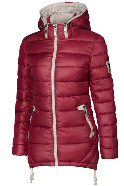 Damen Stepp Winter Mantel Übergangsmantel Lang Jacke Parka – Bild 23