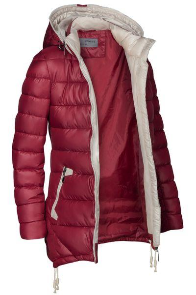 Damen Stepp Winter Mantel Übergangsmantel Lang Jacke Parka – Bild 25