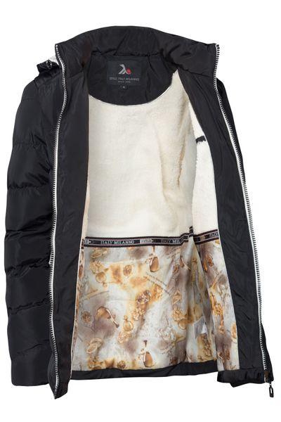 Damen Winter Jacke Gefüttert Stepp Daunen Kapuze Parka – Bild 19