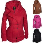 Winter Damen Jacke Parka Kapuze Mantel Daunen Winterjacke Outdoor Warm S M L XL
