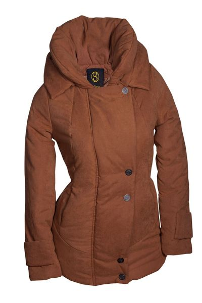 Winter Damen Jacke Parka Kapuze Mantel Daunen Winterjacke Outdoor Warm S M L XL – Bild 2