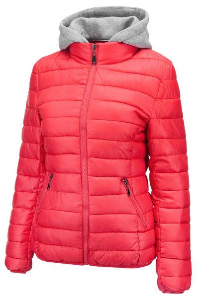 Damen Steppacke Übergangsjacke kurz Kapuze Skijacke – Bild 8