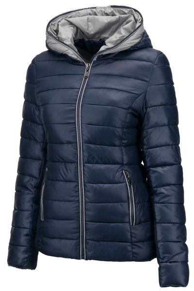 Neu Damen Winter Jacke Übergangsjacke Skijacke Stepp mit Kapuze – Bild 3