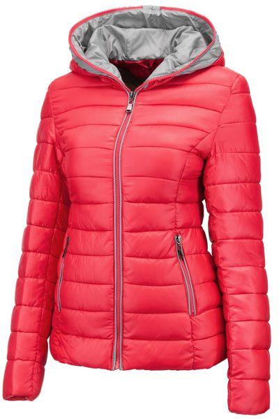 Neu Damen Winter Jacke Übergangsjacke Skijacke Stepp mit Kapuze – Bild 13