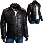 Herren Winter Jacke Sweatjacke Steppjacke Warm