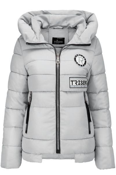 Trisens Damen Winterjacke Kurz Große Kragen – Bild 7
