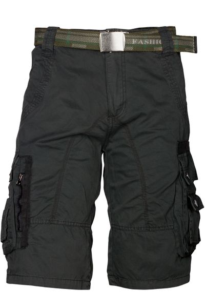 Trisens Herrenshorts Bermuda Cargo Shorts inkl. Gürtel – Bild 3