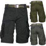 Trisens Herrenshorts Bermuda Cargo Shorts inkl. Gürtel 001