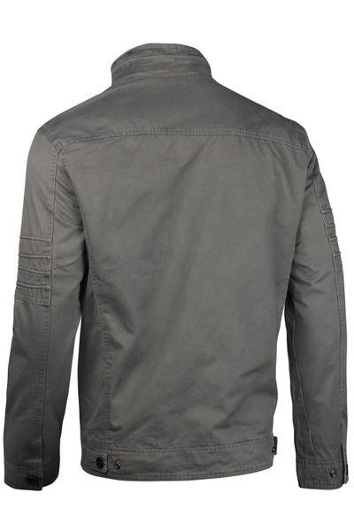 Herren Cotton Jacke Übergangsjacke mit Kapuze Sommer Frühling Windbreaker – Bild 5