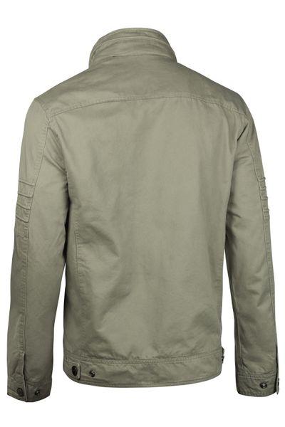 Herren Cotton Jacke Übergangsjacke mit Kapuze Sommer Frühling Windbreaker – Bild 15