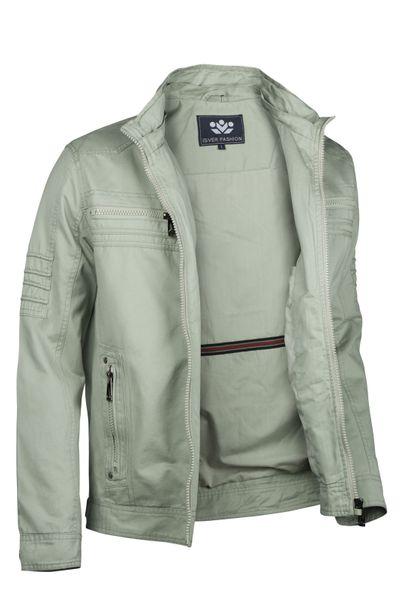Herren Cotton Jacke Übergangsjacke mit Kapuze Sommer Frühling Windbreaker – Bild 24