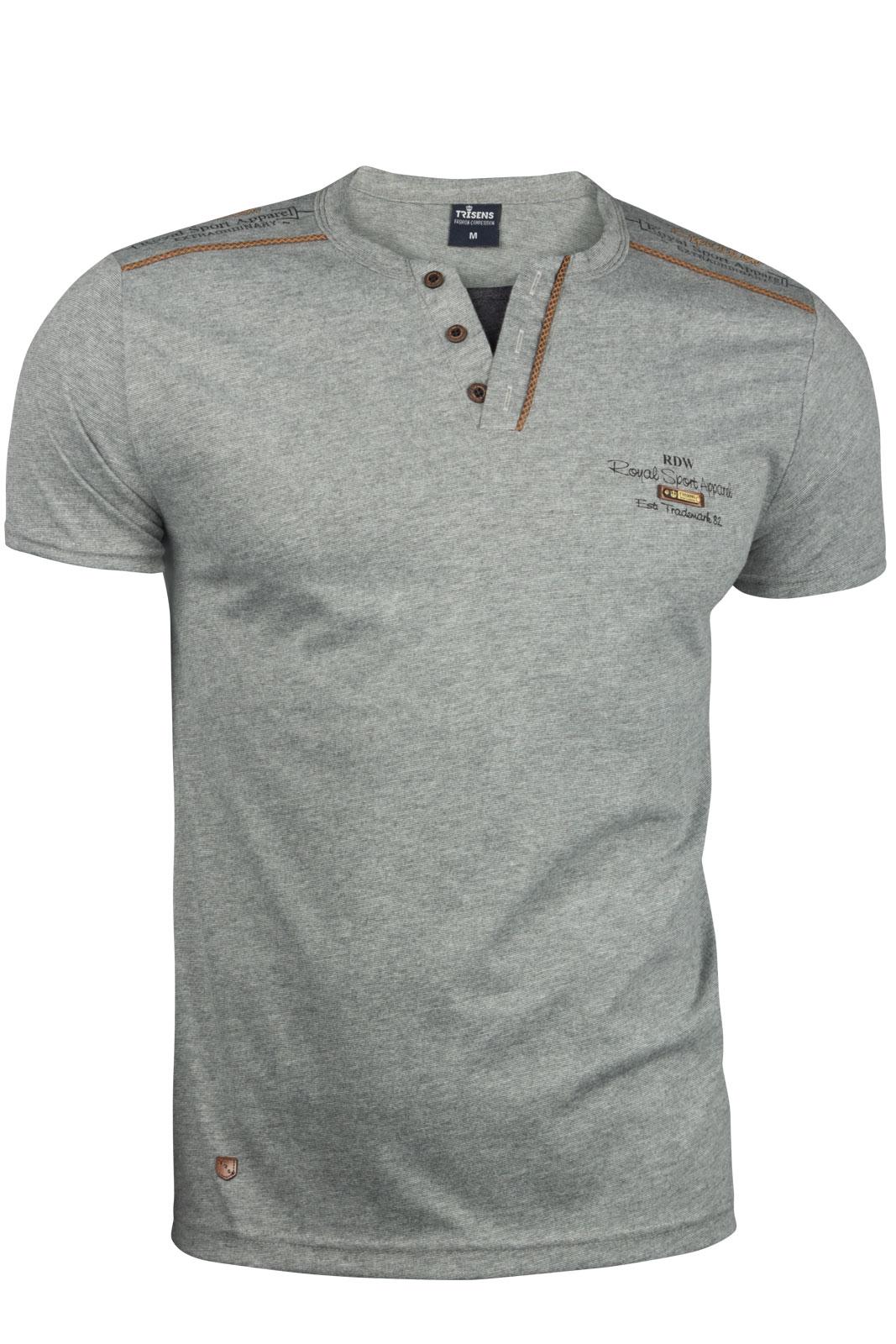 af049f8a28911f Trisens Herren T-Shirt Sommer Polo Cotton Herren Mode T-Shirts
