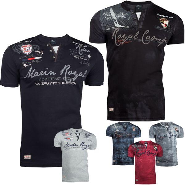 Trisens Polo T-Shirt Sommer Hemd Baumwolle Stickerei – Bild 1