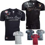 Trisens Polo T-Shirt Sommer Hemd Baumwolle Stickerei