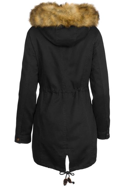 3 in 1 Damen Winter Jacke 100% Baumwolle Military Style – Bild 18