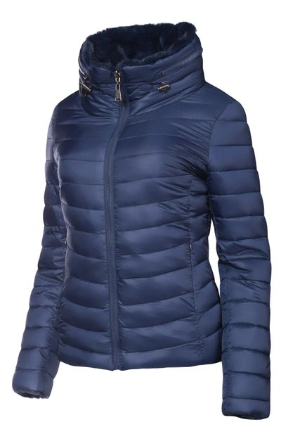 Damen Wendejacke Winter Steppjacke  – Bild 3