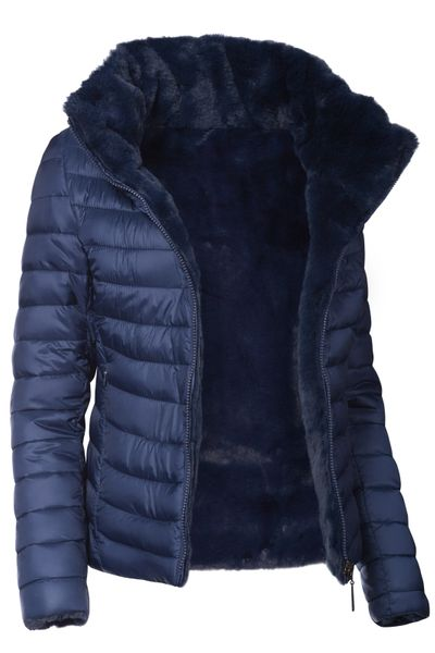 Damen Wendejacke Winter Steppjacke  – Bild 4