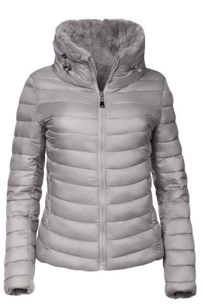 Damen Wendejacke Winter Steppjacke  – Bild 7