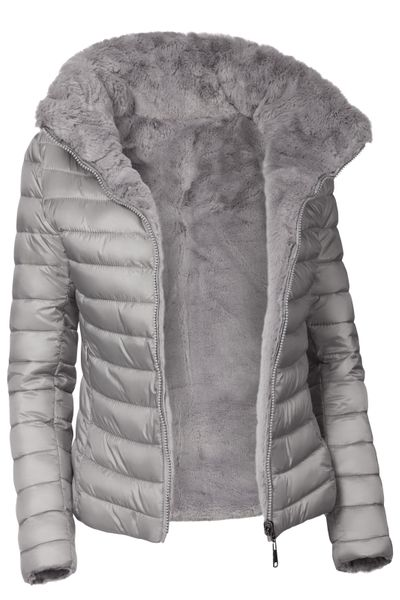 Damen Wendejacke Winter Steppjacke  – Bild 9
