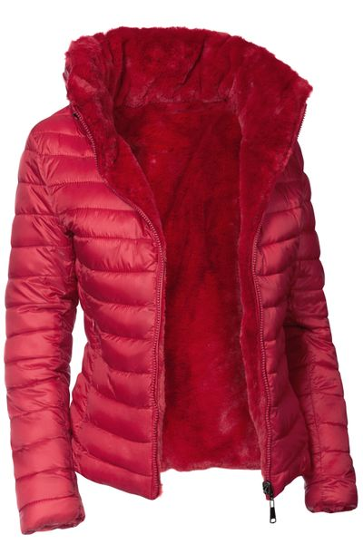 Damen Wendejacke Winter Steppjacke  – Bild 14