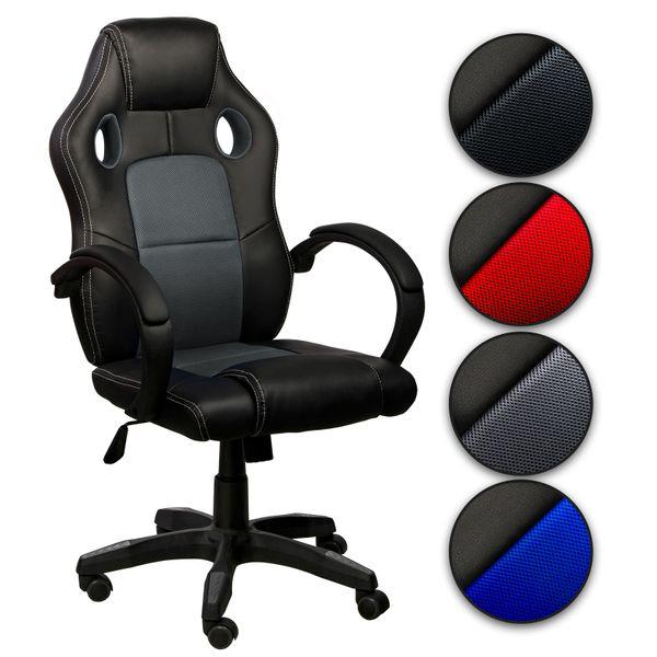 Chefsessel Bürostuhl Gamingstuhl Schreibtischstuhl – Bild 18